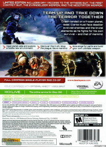 Dead Space 3 Back