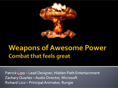 Weapons of Awesome Power Slideshow