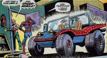 Spidey Car