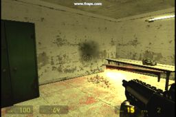 Half Life 2 Submachinegun