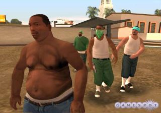 Gettin' phat and fat in GTA San Andreas