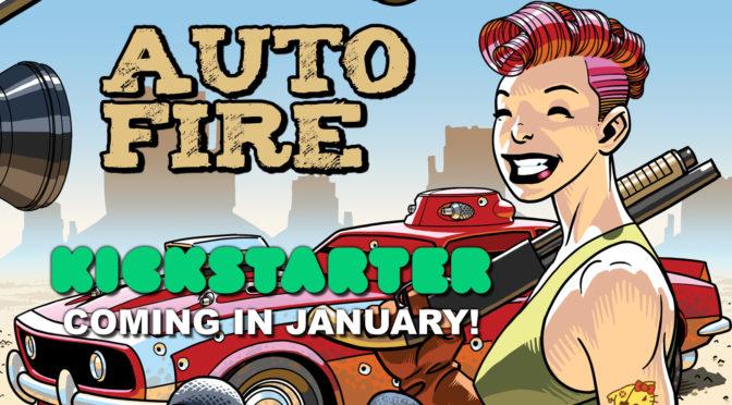 Kickstarter in January!